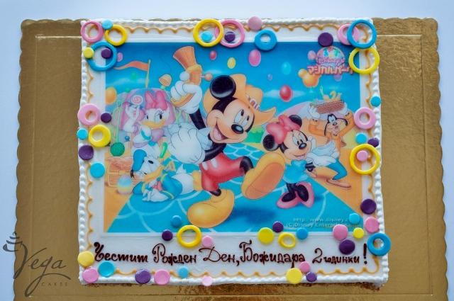Картинки по запросу торт с микки маусом | Торты на детский день ... | 425x640